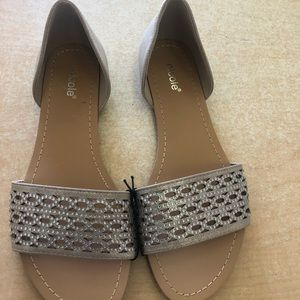 Brand new bling sandals, by Nicole.